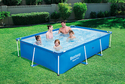 BESTWAY DELUXE SPLASH Jr FRAME POOL 259 x 170cm - WATER CAPACITY 2300L