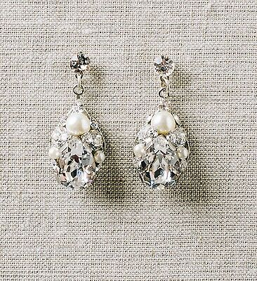 Sara Gabriel Daphne Bridal Earrings (Bridal/Wedding Jewelry)