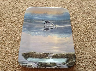Bradford Exchange Decorative Plates- Dawns Call 3 Plate Collection