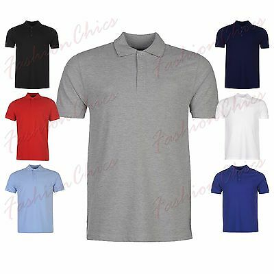 Men's Polo Shirt Plain T Shirt Blank Short Sleeve Summer Polo T-Shirt S-5XL Top
