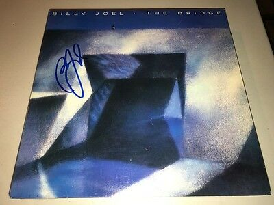 AWESOME Billy Joel Autographed Signed THE BRIDGE Album LP