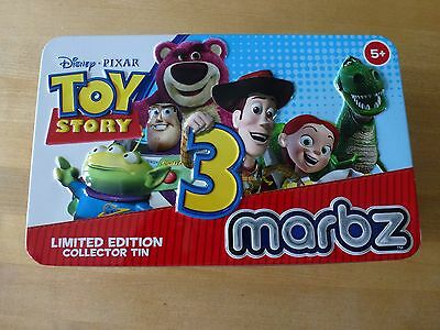 Toy Story 3 Marbz Limited Edition Collector Tin + 18 marbles