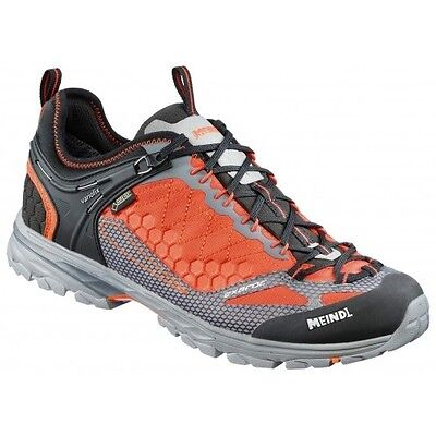 Meindl Exaroc Gtx Orange Graphite Wanderschuhe  Uk Gr. 8 - 12  Eu 42 - 47