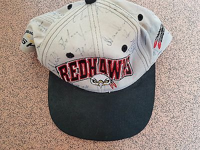 Malmö RedHawks Vintage Cap - SHL - SIGNED BY WHOLE TEAM - VINTAGE?