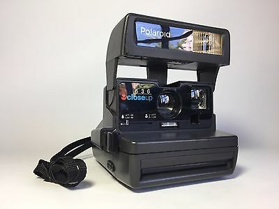 POLAROID 600 636 CloseUp Camera Fully Working - Great for Impossible project