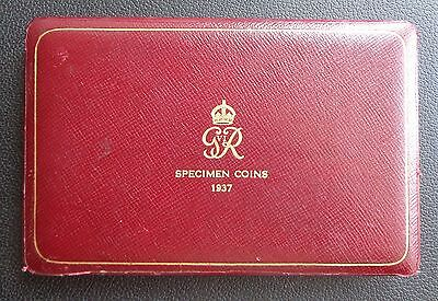 1937 ROYAL MINT GEORGE VI PROOF 15 COIN SET - Box Only No Coins