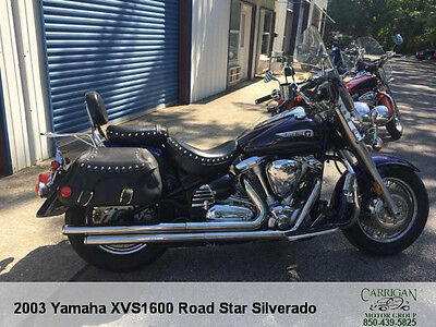 "2003 Yamaha Road Star  2003 YAMAHA ""XVS1600"" ROAD STAR 35K MILES.  GREAT SHAPE! DONT MISS OUT"