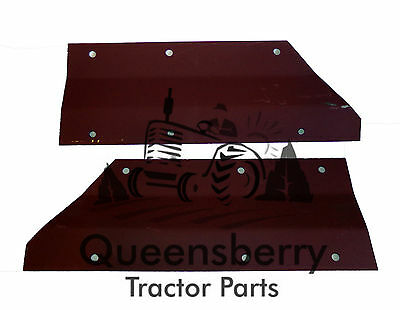 Massey Ferguson 135 165 wing Fender extension plates pair