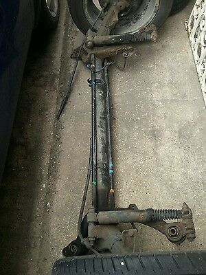 Peugeot 206  Rear Back Axle Drum Type With Abs