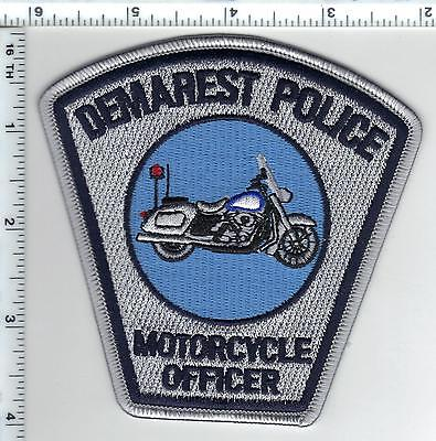 Demarest Police (New Jersey) Motorcycle Officer Shoulder Patch - new from 2015