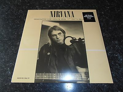 Nirvana Broadcasting Live Kaos-Fm Snl-Tv Vinyl Lp New Sealed