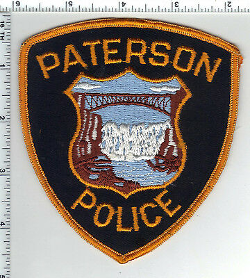 Paterson Police (New Jersey) Shoulder Patch - new from the 1980's