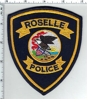 Roselle Police (New Jersey) Shoulder Patch - new from the 1980's