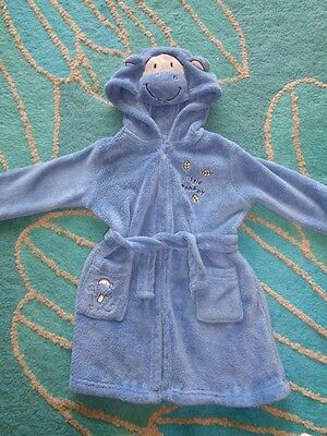 Gorgeous Boys Monkey Dressing Gown Aged 18-24 Months