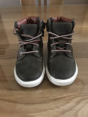 Baby Boy Timberland Boots Size 4