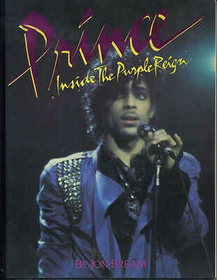 "Prince: RARE OOP ""Inside The Purple Reign"" 1st Edition  By Jon Bream 1984"