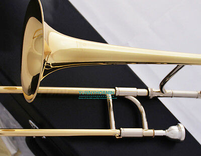 Advanced New Brass Eb Trombone Alto Horn NEW with Case Mouthpiece