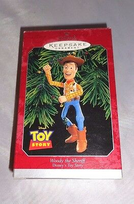 1998 Hallmark Woody The Sheriff Toy Story Keepsake Ornament Disney Pixar