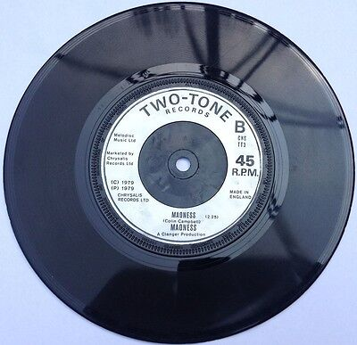 Madness, The Prince/Madness 7 inch vinyl, Two-Tone, 1979