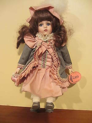 Show Stoppers Victorian Porcelain Collectable Doll Lara 11""