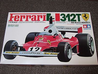 TAMIYA Ferrari 312T 1/12 Big Scale Series Model Kit  #12019 Unopened