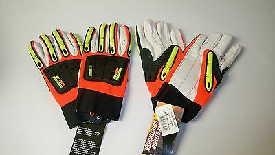 New Majestic 21262HO Knucklehead Driller X10 Impact Gloves, Size XL (Qty 2 Pair)