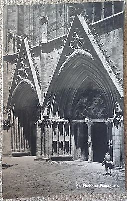 CYPRUS 1960's FAMAGUSTA ST. NICHOLAS CATHEDRAL RARE OLD VINTAGE MINT POSTCARD!!