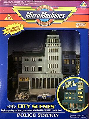 Police Station City Scenes Micro Machines Playset by Micro Machines