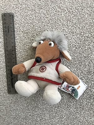 """Wombles Vintage 1998 Small Tomsk Beanie 6"""" Plush Soft Toy"""