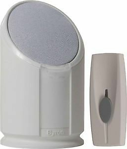 Byron Sentry BY301 100m Extra Loud Wireless Portable Door Chime Kit