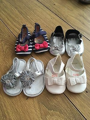 Baby Girl Shoes 0-3 Months