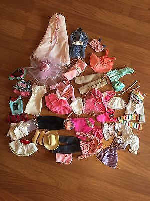 Barbie  Doll Clothes lot of 41 from 1980's