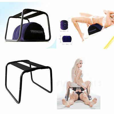 Detachable Sex Bounced Chair Sofa Inflatable Pillow Swing Love Position Stool A