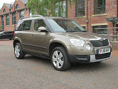 2010 SKODA YETI SE TDI CR 110 BROWN Metallic ~ FSH ~ 1 Former Keeper ~11 mth MOT