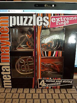 Professor Puzzle Metal and string puzzles from the Extreme Range
