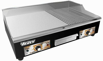 New Stainless Steel Commercial Electric Griddle Grill / Hot plate 73cm Uk Plugs