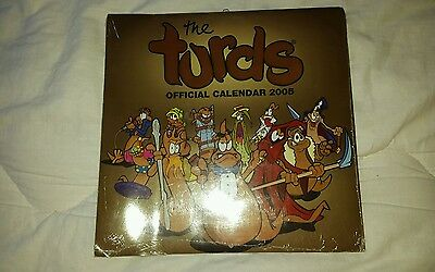 Turds official calander 2005 sealed