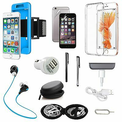 Case Cover Sport Armband Bluetooth Earphones Charger Accessory For iPhone 7 Plus