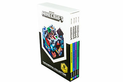 MINECRAFT GUIDE TO Survival Collection 5 Books Set With
