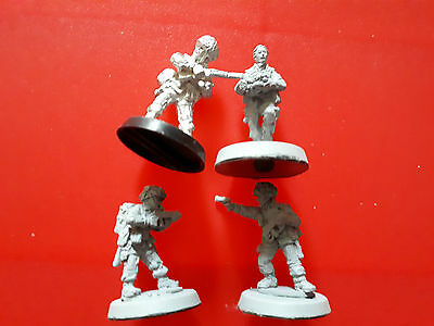 28mm bolt action American paratrooper command squad