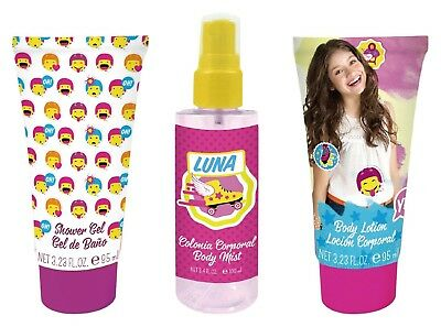 Soy Luna Set Fresh Fragrant Water 100 ml + Shower Gel + Body Lotion 95 ml 95 ml