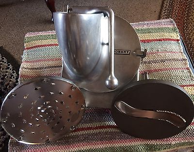 "OEM Hobart Pelican Head - 9"" Grater/Shedder Slicer VS9 #12 with ""S"" Blade"