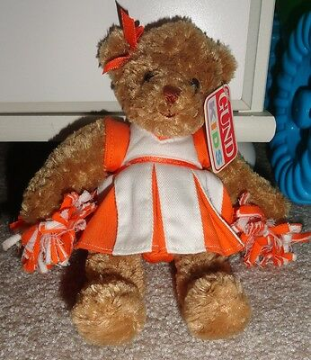 **** Mini Rachel Cheer Bear by Gund *** New!