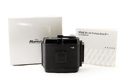 [Exc] Mamiya 120 Roll Film Holder for RB67 Pro-S from Japan
