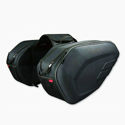 2X Universal Alforjas Laterales Moto. 2X Universal Motorcycle Side Saddle Bag.
