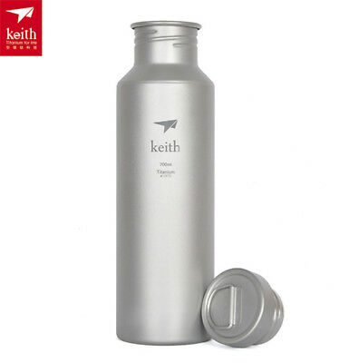 Keith 700ML Titanium Outdoor  Water Bottle Camping Running Cycling Bottle