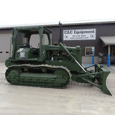 1988 Caterpillar D5B with winch Ex Military CLEAN LOW HOURS!!  Video!!!