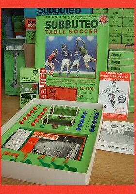SUBBUTEO H/W Era 1969 Rare Belgium Issue Continental Club Edition. Complete.
