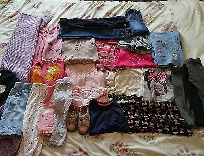 huge bundle of girls clothes 3-4 years