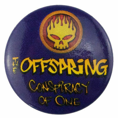 10 x The Offspring Conspiracy of One 25mm Badge's New Official Rock Band Merch